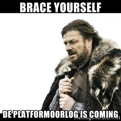 De platformoorlog is coming
